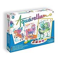 SentoSphere Aquarellum Watercolour Paint Set - Unicorn and Pegasus
