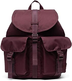 Herschel Dawson Ladies Small Plum Polyester Casual Backpack 10637-02983-OS