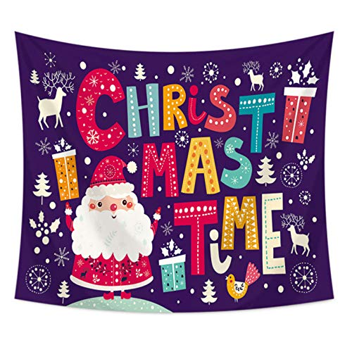 Hey shop Christmas tree tapestry tapestry background cloth home decoration tapestry home decoration
