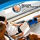 """Knee Ice Pack Wrap (11"""" x 12"""") by Cool Relief - Flexible Cold Pack Wrap For Long-Lasting Superior Knee Compression - Knee Ice Pack Wrap For Joint Pain Relief & Faster Injury and Surgery Recovery #3"""