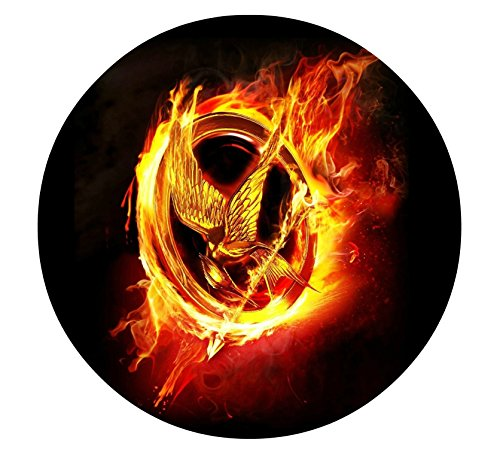 The Hunger Games Mockingjay Katniss Edible Image Photo Sugar Frosting Icing Cake Topper Sheet Birthday Party - 8' ROUND - 75355