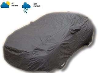 Carsaaz Grey Metty Cloth Body Cover For Hyundai I10