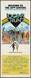 Logans Run Movie Poster Insert 14x36