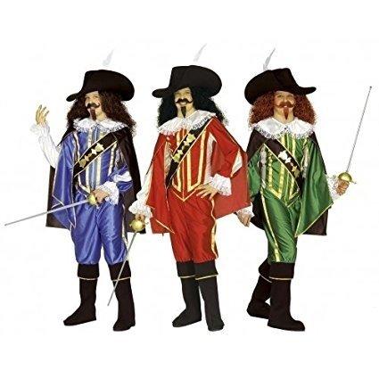 MUSKETEER 158cm - 3 colours (shirt coat pants cape hat bcov)