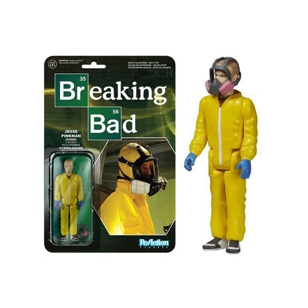 Breaking Bad Jesse Pinkman Cook ReAction 3 3/4-Inch Retro Action Figure by Breaking Bad 1