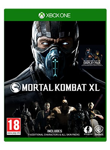 Mortal Kombat XL XB-One AT inkl Pack 1+2 Skin Packs auf CD [Import allemand]