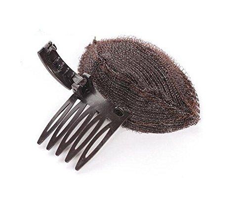TININNA Haarkissen Hochsteckfrisur Frisurenhilfe Volumenkissen Volumen Kissen Schaumstoff Haar Volumen DIY Frisieren braun EINWEG Verpackung