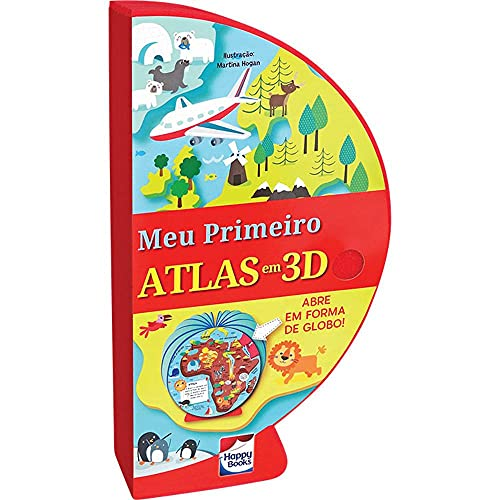Livro-Globo: Meu Primeiro Atlas em 3D