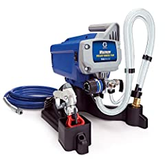 CONTROL PAINT FLOW: Fully adjustable pressure to give you ultimate control of paint flow for any project size; RAC IV Switch Tip allows you to reverse the tip when clogged to keep you spraying SPRAY PAINT UNTHINNED: Stainless Steel Piston Pump allows...