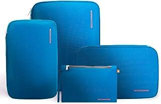 مكعبات تغليف مضغوطة ومنظمات التعبئة, , Blue red - G4