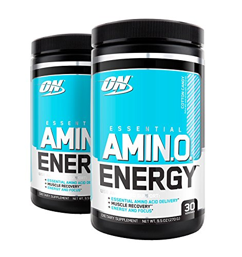 Optimum Nutrition Amino Energy, Cotton Candy, 30 Servings (2)
