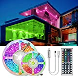 Tira de luz LED RGB 5050 SMD 2835 cinta flexible fita led tira de luz RGB 5M 10M 15M cinta diodo DC 12V+control remoto+adaptador,RGB 5050 no impermeable,20M conjunto completo
