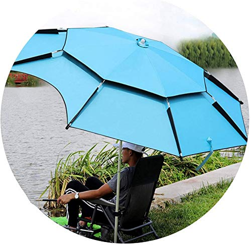 MIAOLIANG Garden Umbrella Parasol,Garden Umbrella,Patio Umbrella Sun Shading,Folding Water Protection Outdoor Restaurant Fishing Park