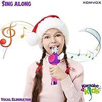 Karaoke Microfono Cambia Voce per Bambini, Senza Fili Microfono Registrazione Ricaricabile Strumenti Musicali per bambina, Compleanno Giochi da Tavolo, Regalo Bimba 3 4 5 6 Anni Gioco Educativi #4