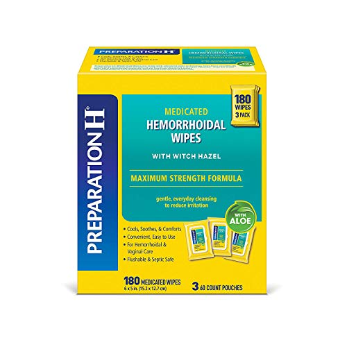 Preparation H® Medicated Wipes (180 ct.)