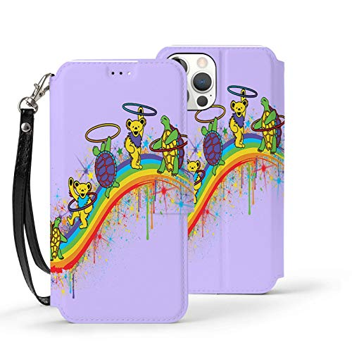 Tie Dye Grate-ful Dead Tortoise Phone Case for iPhone 12/12 Pro/12 Pro Max /12 Mini Soft TPU Leather Anti-Scratch Protective Cover