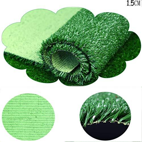 CarPET Dicker Kunstrasen, 1.5 cm dick Kunststoff grün Bodenmatte Shop Außen Wohnung Zaun Dekoration YNFNGXU (Size : 2x9m)