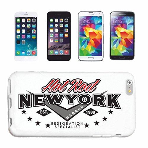 Reifen-Markt Hard Cover - Funda para teléfono móvil Compatible con Apple iPhone 5 / 5S HEUT Rod New York Garaje RESTAURACION DE ESPECIALISTA Hot Rod Coche Nos Mucl