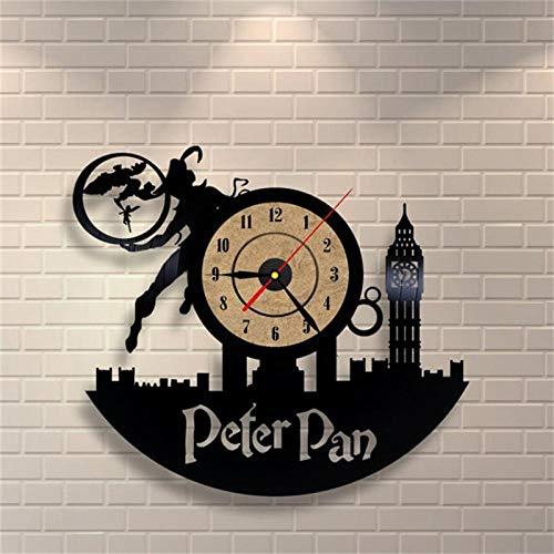 Wandklok 3D Home Decor Vinyl Wandmontage Tijdklokken Antieke stijl Quartz klok Horloge Murale