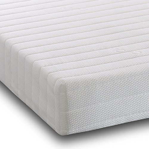 Visco Therapy Comfortable Foam 3 Zone Bunk Bed Mattress with Fibre Pillow EU Single(For Ikea) (90x200 cm)