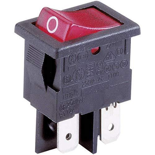 ARCOLECTRIC Wippschalter H 8553 VB NAG 230 V/AC 10 A 2 x Aus/EIN rastend 1 St.