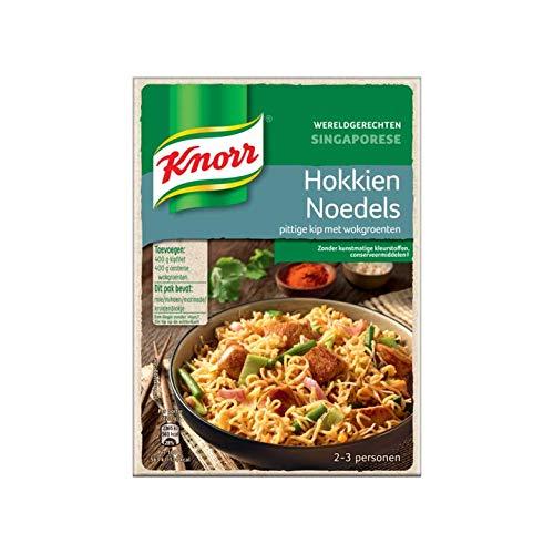Hokkien Nudel Gewürzmischung | Knorr | Weltgerichte Hokkien Nudeln | Gesamtgewicht 227 Gramm