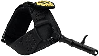 TruFire Edge Buckle Foldback Adjustable Archery Compound Bow Release - Wrist Strap with Foldback Design - Black or Camo