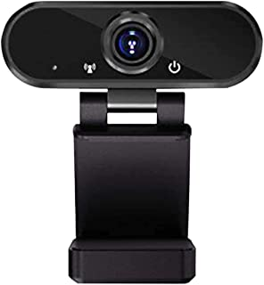 1080P Full HD Webcam USB Plug & Play Web Camera with Microphone for Video Calling Recording,1080 Full HD Webcam with Stereo Microphone USB Desktop Laptap Webcam