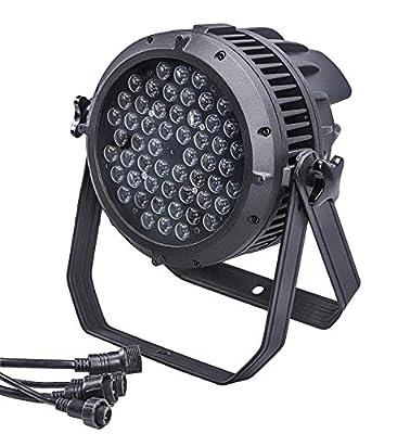 Led Par Light,Outdoor Led Light,IP67 Waterproof,54x3w RGBW,Aluminium Body, Use For Disco, Ballroom, KTV, Bar,Club, Party, Wedding
