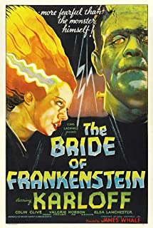 The Bride of Frankenstein Movie Poster (36 x 24 Inches - 90cm x 60cm) (1935) Style C -(Boris Karloff)(Elsa Lanchester)(Ernest Thesiger)(Colin Clive)(Una O'Connor)(Valerie Hobson)