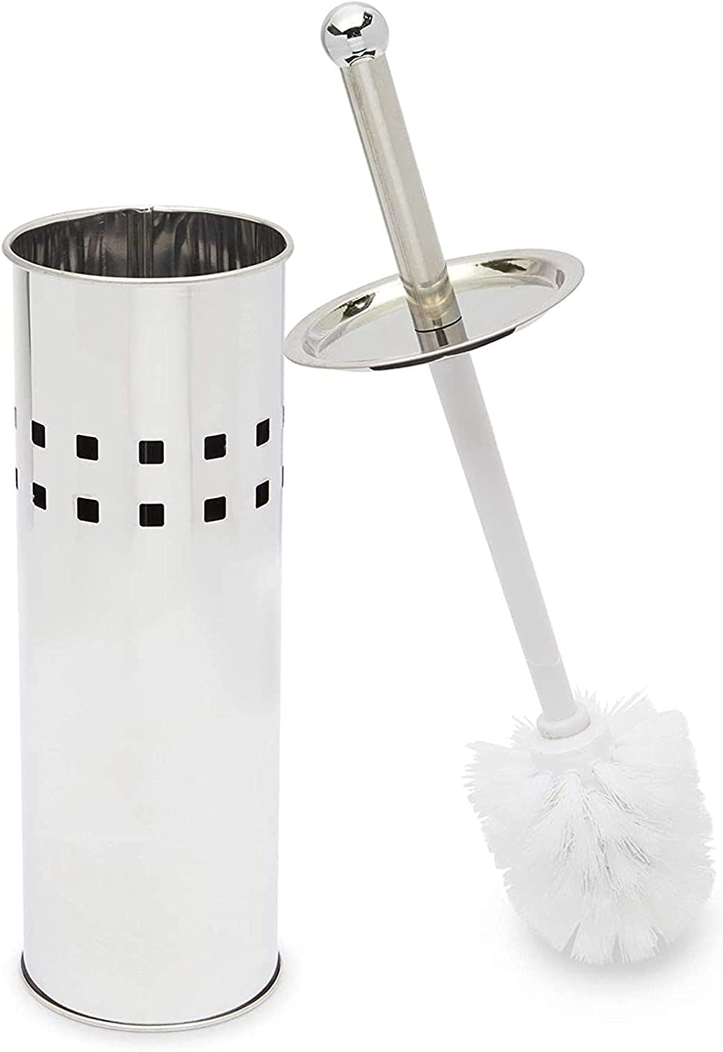 Stainless Steel Toilet Brush with Ranking TOP10 Holder P 3.6 in x 2 14 Sale