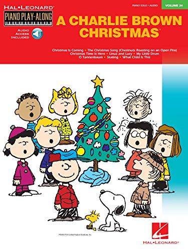Charlie Brown Christmas: Piano Play-Along Volume 34 (Hal Leonard Piano Play-Along) (English Edition)