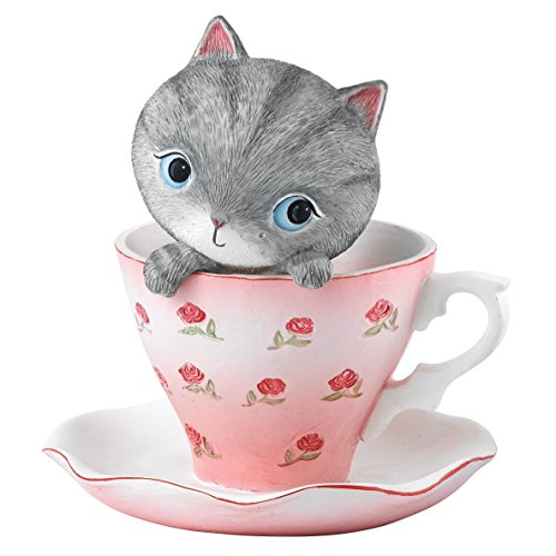 Hallmark 'Teacup Kitten' Figurine