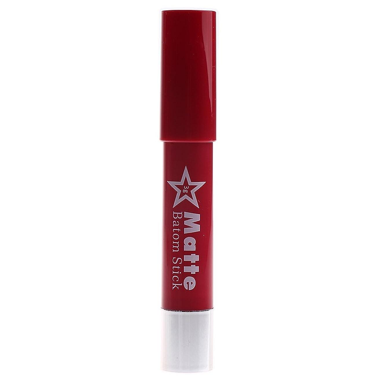 治すアルコールリズミカルなBaosity 女性  メイクアップ マット 口紅 防水 気質アップ リップスティック 長持ち 鮮やかな色