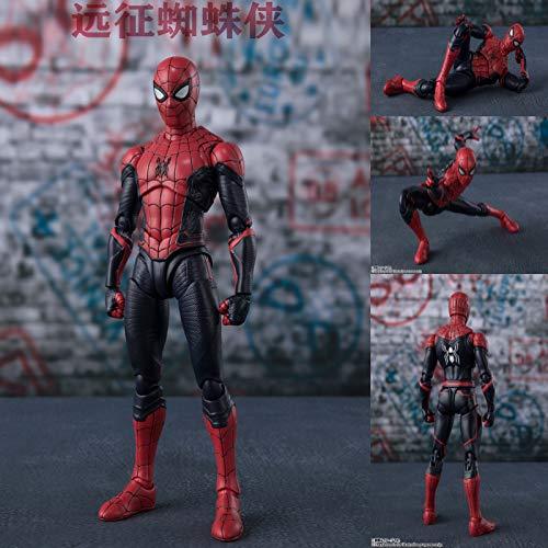Mbdyvv Avenger Marvel Steel Spider Marvel superheld bewegende mensachtige speelgoed Avengers pop pop