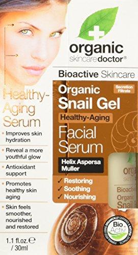 Dr. Organic Sérum Visage au Gel d'Escargot Bio 30 ml