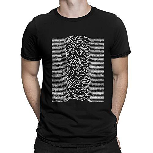 Joy Division Unknown Pleasures T-Shirt, Rock Band Tee, Men's