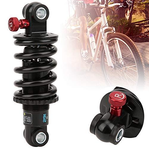 Keenso Amortiguador de Choque de Primavera, suspensión de Choque de Resorte de Bicicleta de Amortiguador de presión de Aceite de aleación de Aluminio (165mm*650P)