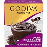 Fourteen 3.6 oz. boxes of Godiva Dark Chocolate Pudding Mix Godiva Dark Chocolate Pudding Mix offers chocolate indulgence of Godiva in a quick dessert This dark chocolate pudding mix is sealed inside a box Ready in just five minutes for a sweet treat...