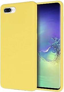 Ttimao Hoesje voor iphone 7 Plus/8 Plus Originele Vloeibare Siliconen Cover+1*Screen Protector Shock Proof Krasbestendig T...