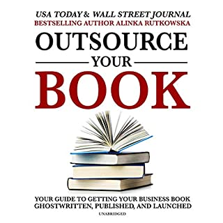 Outsource Your Book audiobook cover art