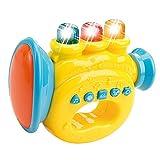 WEofferwhatYOUwant Trompeta Juguete 6 Meses - 12 Meses Bebe . Juegos Interactivos para Bailar Cantar con Canciones De Niños 1 a 2 Años . Instrumento Musical Infantil