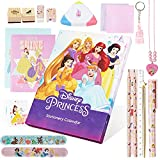 Disney Princess Calendario Avvento Bambina - Advent Calendar 2021 con 24 Sorprese Gadget Cancelleria Principesse