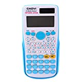Honelife Portable Scientific Calculator Multifunction Counting Tool with Button Battery for Student School