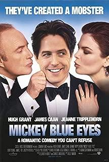 MICKEY BLUE EYES (1999) Original Movie Poster 27x40 - Dbl-Sided - Hugh Grant - James Caan - Jeanne Tripplehorn - Burt Young