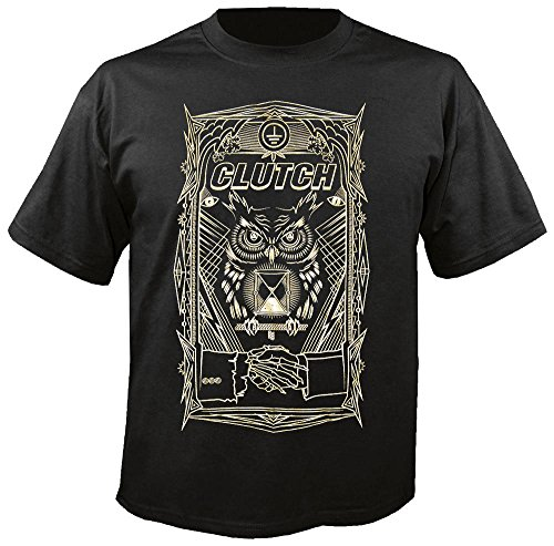 Clutch - All Seeing Owl - T-Shirt Größe XL