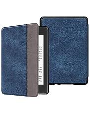 Fintie for Amazon Kindle Paperwhite 第10世代 ケース 軽量 薄型 オートスリープ機能付き Kindle Paperwhite 2018 Newモデル 第10世代 用 保護カバー (デニムネイビー)