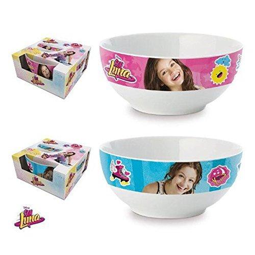 Bol Disney Soy Luna en céramique à céréales petit déjeuner enfant