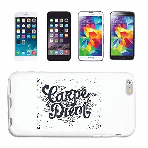Reifen-Markt Hard Cover - Funda para teléfono móvil Compatible con Apple iPhone 6+ Plus Carpe Diem Agarre el día disfrutando de Ideas DE Regalo Vida de cumpleaños
