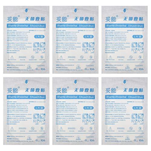 Artibetter 15 Stuks Wegwerp Transparant Verband Zelfklevende Filmverband Waterdicht Wondverband Stickers EHBO-Benodigdheden